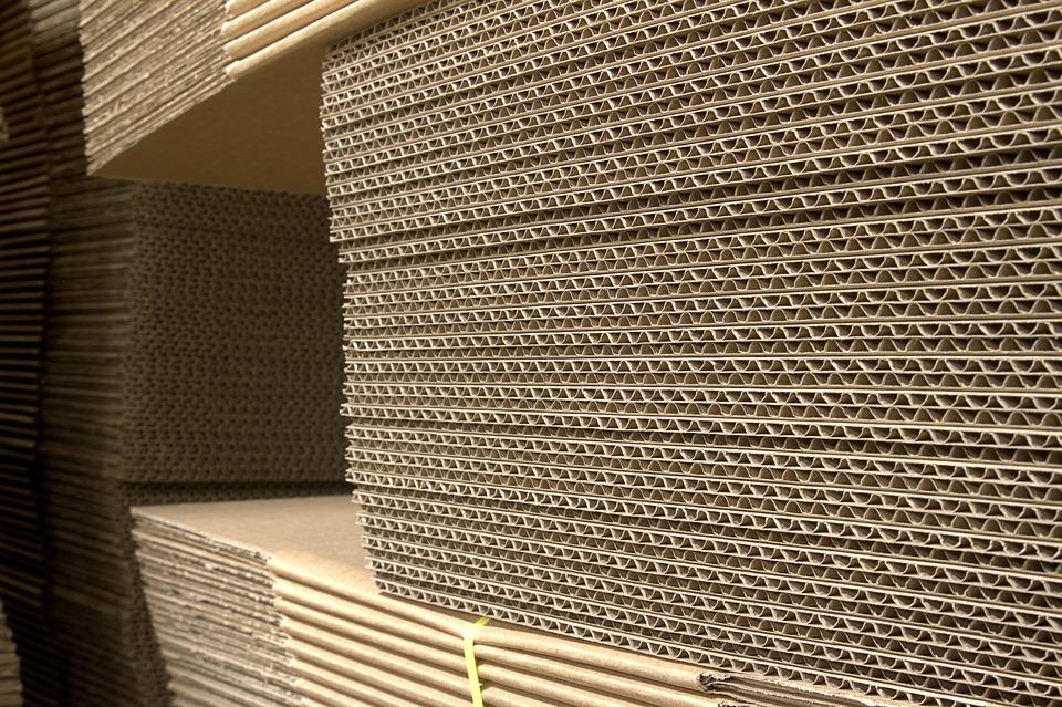 Строительство фабрики по производству бумаги для гофрирования